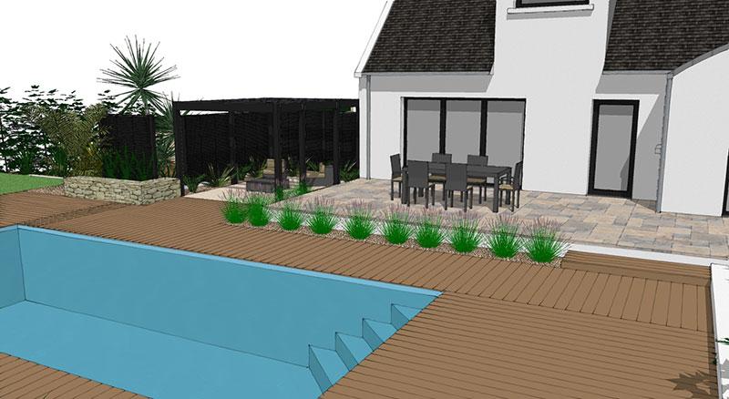 am nagement des abords d une piscine guillerm fils. Black Bedroom Furniture Sets. Home Design Ideas
