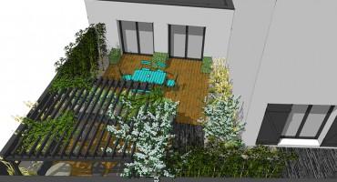 conception jardin larmor plage