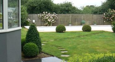 Création Jardin à Rédéné